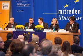 Mitreden über Europa - Diskussion