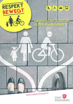 Plakat Respekt Bewegt - gemeinsam achtsam durch die Altstadt