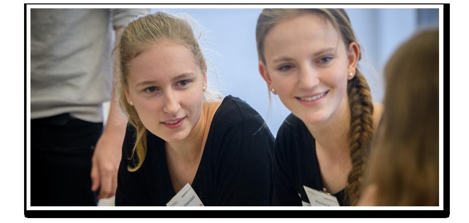 Zwei Teilnehmerinnen am PerspektivForum