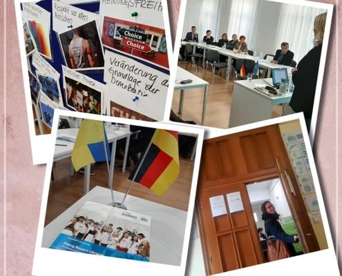 """Collage des Demokratiekurses """"Dialog Bayern – Ukraine"""""""