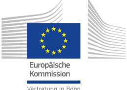 Logo der Europäischen Kommission in Bonn