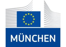 Logo der Europäischen Kommission in München