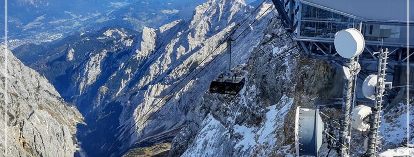 Ausblick von der Zugspitze beim PerspektivForum